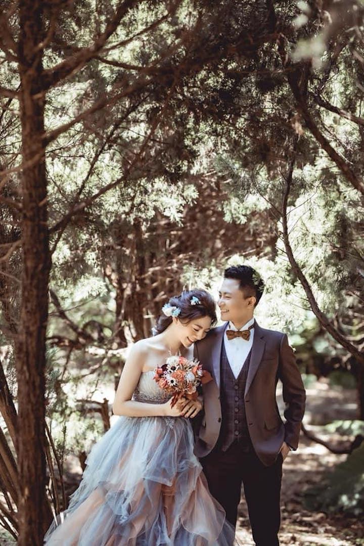 薇微新娘 唯美婚紗照