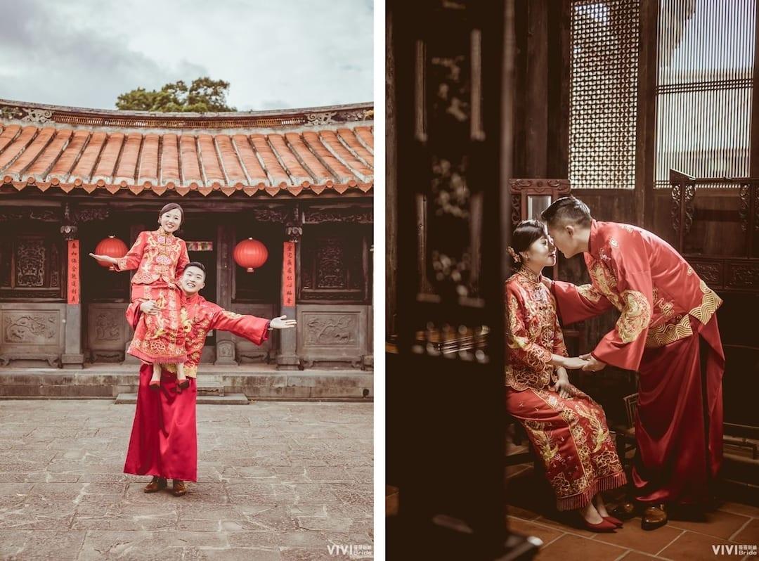 薇微新娘 中式婚紗照