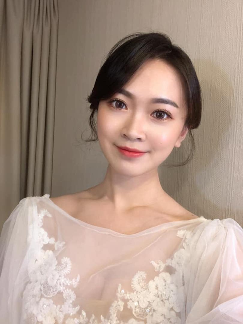 薇微新娘 韓式妝容